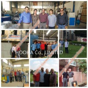 A Argélia máquina de extrusão de fios e cabos