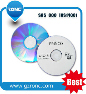 싼 가격 공백 급료 a+ 120min 4.7GB 16X DVD-R 디스크