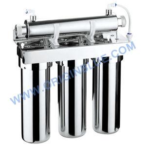 Etapa 4 Filtro de agua de filtración con Esterilizador UV