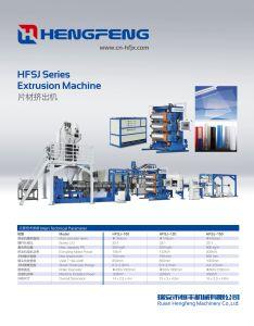 Ligne d'Extrusion de feuilles de machines pour la production de feuilles PS