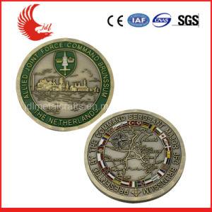 Gedenkmünzen mit weichem Decklack im Antike-u. Diamant-Rand (011)