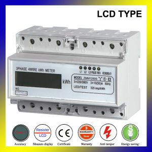 Три этапа три провода DIN Mesure дозатора щитка приборов