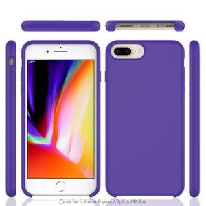 Telefone Líquido Original em silicone para iPhone 6/7/8 Plus