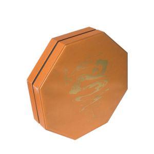 팔각형 종이 생과자 초콜렛 선물 포장 상자 떨어져 주문을 받아서 만들어진 뚜껑