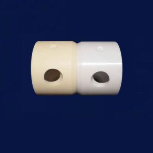 Tubo di ceramica Cina dell'allumina lavorabile alla macchina porosa Al203 di concentrazione flessionale