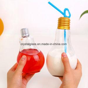 De Fles van de Drank van het Glas van de Vorm van de bol met Metaal GLB