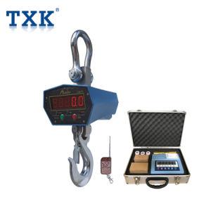 Txk scala elettronica della gru da 2 tonnellate con visualizzazione a distanza senza fili
