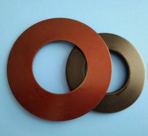 Círculo de alta precisión de metal personalizados de resorte de disco.