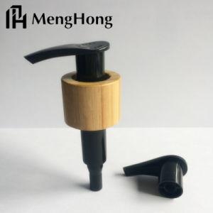 Pomp van de Lotion van de automaat de Kosmetische Plastic met Bamboe