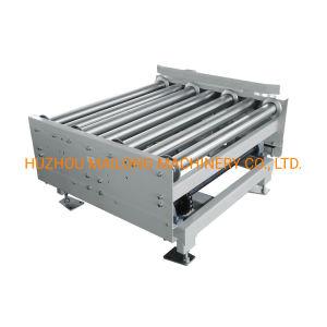 Transportador de rolos motorizado de aço inoxidável para a indústria