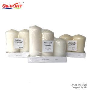 Conjunto de 3 ou 2 Pack encolher refeições com diferentes tamanhos de vela do pilar dianteiro
