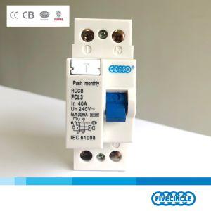 Alta qualidade AC magnético tipo RCCB 2p 40A (FCL3) China Disjuntor