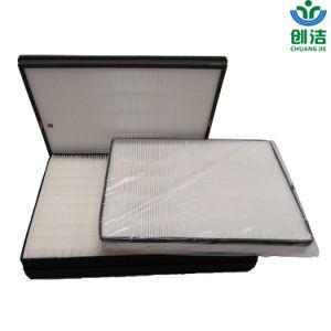 Couleur blanche de 95 %, 99,5 %, 99,97 % d'efficacité du filtre HEPA avec châssis en mousse