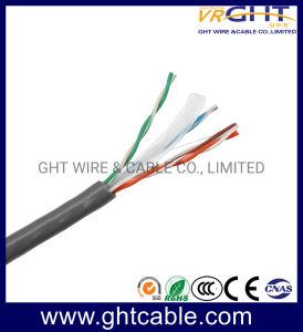 De cobre sólido UTP CAT6 cabo LAN cabo de rede