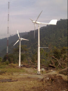 Ah-5kw alta seguridad de la seguridad de bajo ruido del generador de energía eólica