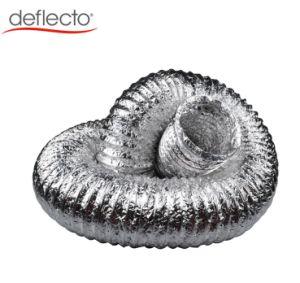 Rohr des HVAC-Systems-Aluminiumrohr-flexibles Gefäß HVAC-Aluminiumfolie-Leitung-Luftkanal-1-Layer