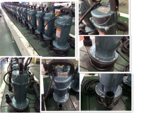 Pompe ad acqua sommergibili elettriche Qdx5-10-0.37 0.37kw/0.5HP