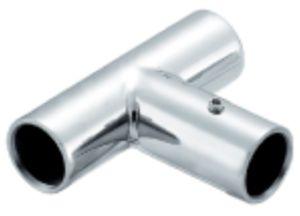 Connecteur en verre de pipe de douche d'acier inoxydable de matériel (FS-641)