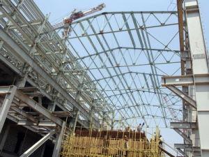 Estructura de acero para el sector industrial (han exportado 200000toneladas--31)