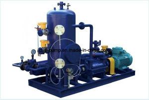Liga directamente de la bomba de anillo de agua utilizada para el proceso de desgasificación al vacío