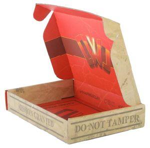 Logo de haute qualité de l'impression gâteau personnalisé Lamination boîte cadeau d'emballage du papier