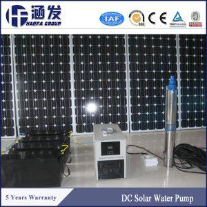 Haute qualité DC 72V submersible de puits profond pour l'Agriculture de la pompe à eau solaire