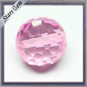 De roze Besnoeiing van de Controleur van het Zirkoon van de Kleur om Bal met Gat