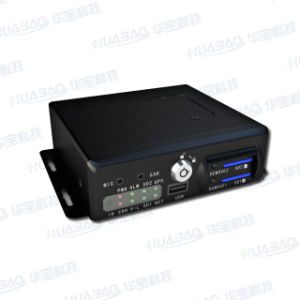 4CH Video und Audio Sd Card Mobile DVR mit GPS, 3G WiFi