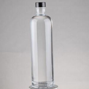 卸し売り750mlによって曇らされる印刷のワインのアルコール飲料の精神のガラスビン、ウォッカのガラスビン