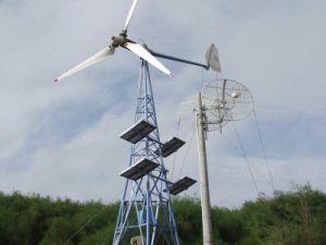 turbina di vento 400W-30kw, centrale elettrica ibrida del comitato solare