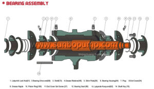 Heavy Duty centrífuga horizontal de la bomba de la papilla de minería de datos