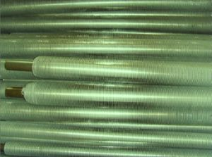 알루미늄 탄미익 관, 지느러미 붙은 관