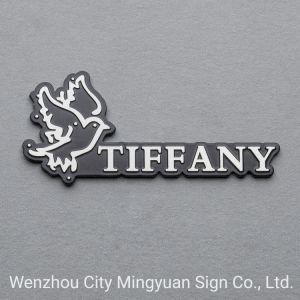 La marca de promoción de la placa con efecto 3D (TIFFANY) Diseño personalizado
