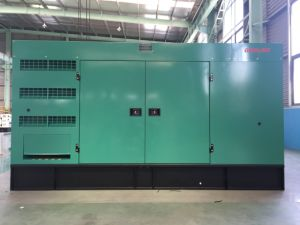 200kVA gerador Diesel Cummins definido com o arranque automático