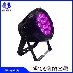 DMX512 54*3W RGBW PAR LED de alta potencia puede etapa de la luz