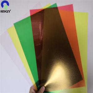 Hard Kleurrijk pvc 0.15mm van de Dekking van het Boek van de Grootte van pvc A4 de Glasheldere A4 Dekking van de Band