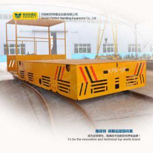 De 10 ton de Capacidade Carrinho de transferência de plataforma para a fábrica de Serviço Pesado