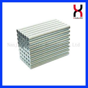 Permanentes de neodimio imán de disco para el embalaje de regalo 10*1mm
