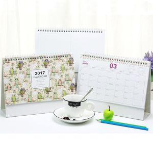 カスタム印刷の壁の事務用品のデスクトップのペーパー卓上カレンダー