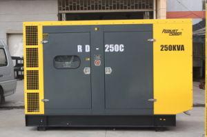 発電機の交流発電機のGensetの防音、Water-Cooledディーゼル沈黙