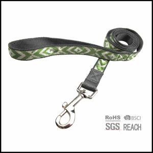 Correa de nylon del correo del perro de animal doméstico del modelo que recorre de la cinta femenina del satén