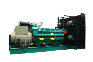 CHP diesel del contenitore del generatore del motore 2500kVA 2MW di Googol