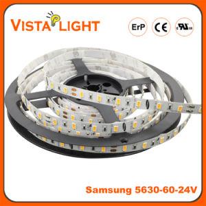 SMD impermeável5630 tira de leds flexíveis de iluminação para centros de beleza
