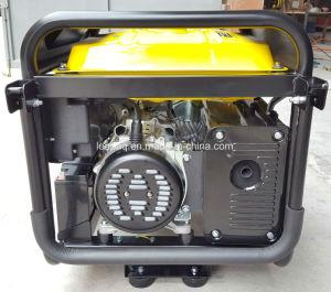 elektrische Räder des Anfangs5.0kw u. Griff P-Typ beweglicher Benzin-Generator