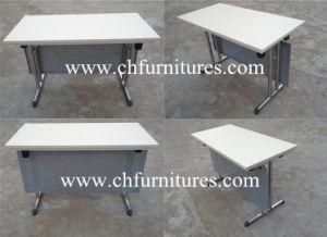 Lujoso y moderno de madera de nogal de plegado más reciente de la Oficina Ejecutiva de la tabla (SC-T188-04)