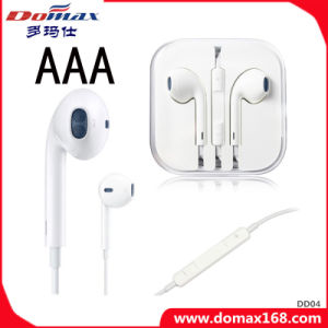 TPE Wire Phone Headphone pour iPhone avec microphone