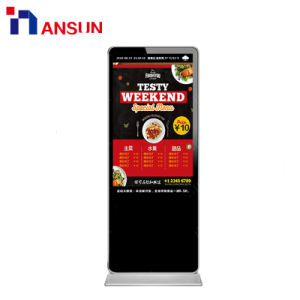 실내 LCD 디스플레이를 광고하는 무선 WiFi/3G 임대료 또는 phan_may
