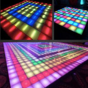 Color LED Dance Floor del RGB para el Banquete de Boda