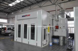 L'acciaio di rinforzo ha reso a cabina di spruzzo automatica del Downdraft la cabina industriale della vernice