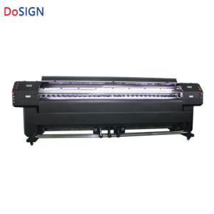 3.2mのDx8印字ヘッドの広いフォーマットロール伸張の天井の紫外線プリンター